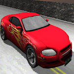 car racing super speed Icon