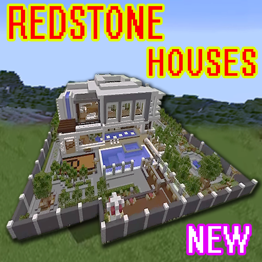 New redstone house map for mcpe 20 30 40 Apk Download - com