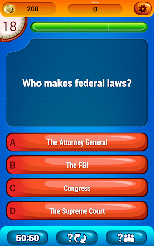 android US Citizenship Questions Screenshot 5