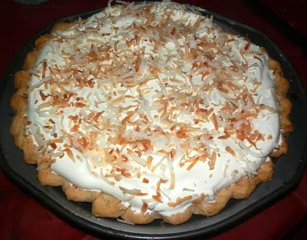 Dee's Best Ever Coconut Cream Pie Recipe