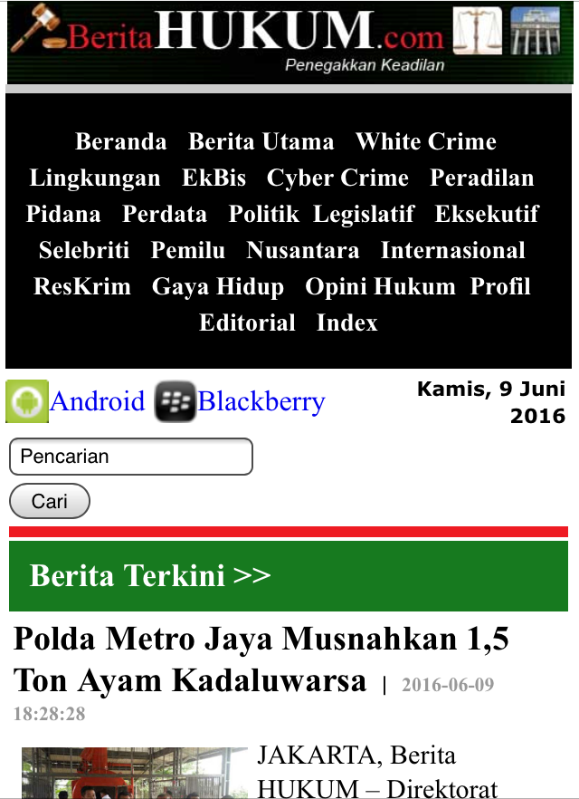 BeritaHUKUM.com- screenshot