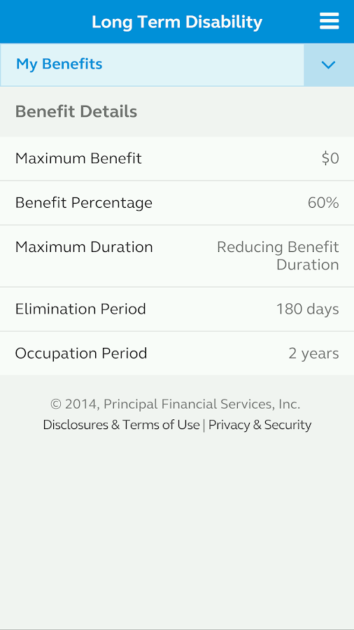 Principal® Mobile- screenshot