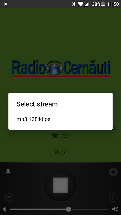 Radio Cernauti- screenshot