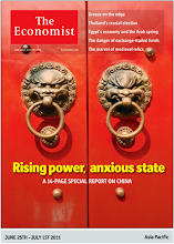 Photo: The Economist cover: Asia edition. June 25th 2011