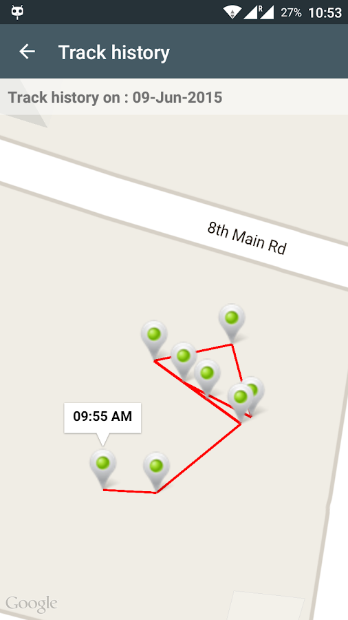 Mobile Tracker ( Location )- screenshot