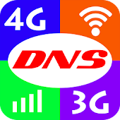 Set DNS for 4G, 3G, WiFi