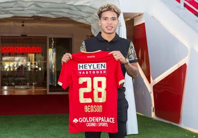 C'est fait : Manuel Benson quitte l'Antwerp, prêté en Eredivisie
