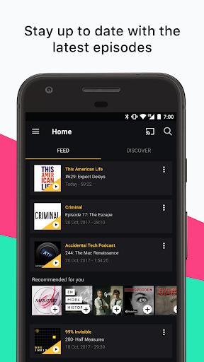 Acast - Podcast Player 1.44.0 screenshots 1