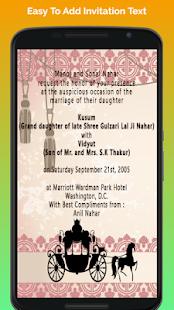 Hindu wedding invitation cards apps on google play screenshot image stopboris Images