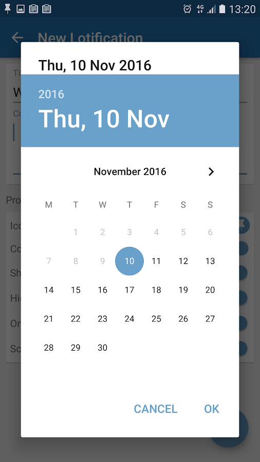 Lotify Notification Maker- screenshot
