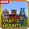 FNAF 2 Mounts Mod for Minecraft PE icon