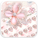 Clover Glitter Keyboard icon