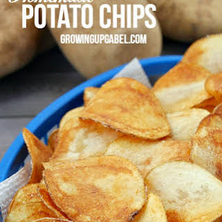 Homemade Potato Chip.