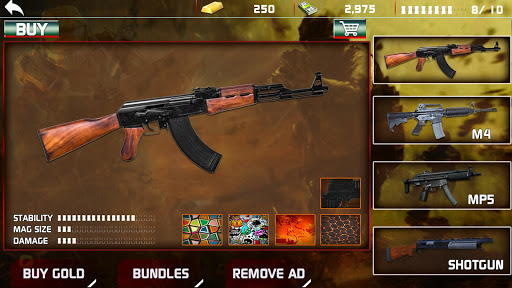 Modern Gun Shooter Sniper Killer 1.0.1 screenshots 9