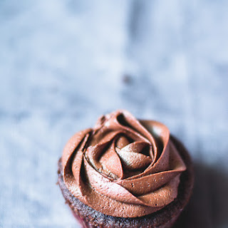Fudgy Chocolate Cupcakes with Chocolate Fudge Frosting Recipe