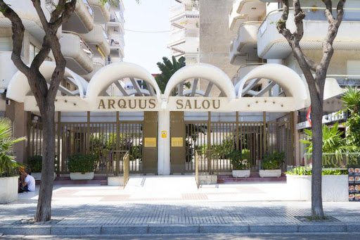 Ibersol Arquus Apartments: façade