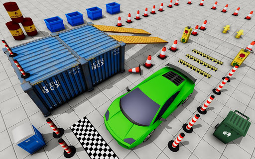 Télécharger Modern Car Parking Game 3d: Real Driving Car Games  APK MOD (Astuce) screenshots 2
