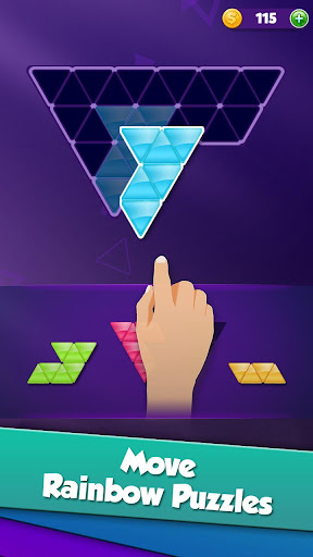 Block! Triangle puzzle: Tangram apktram screenshots 1