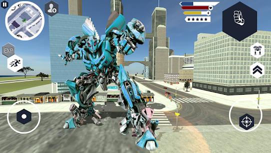 Robot Machin Car Transformer – Robot Car Games 2