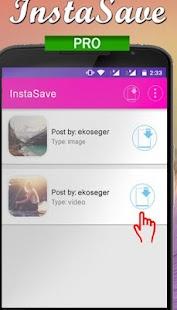 InstaSave for Instagram Pro screenshot