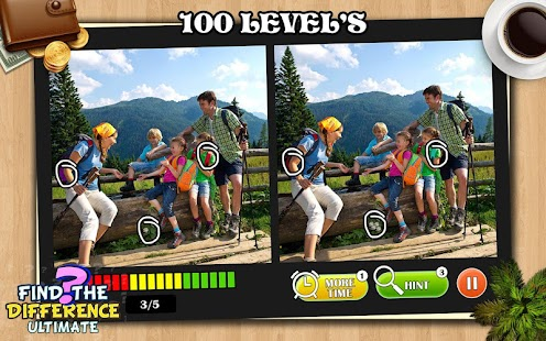 Find the Differences 100 level : Spot Differences - náhled