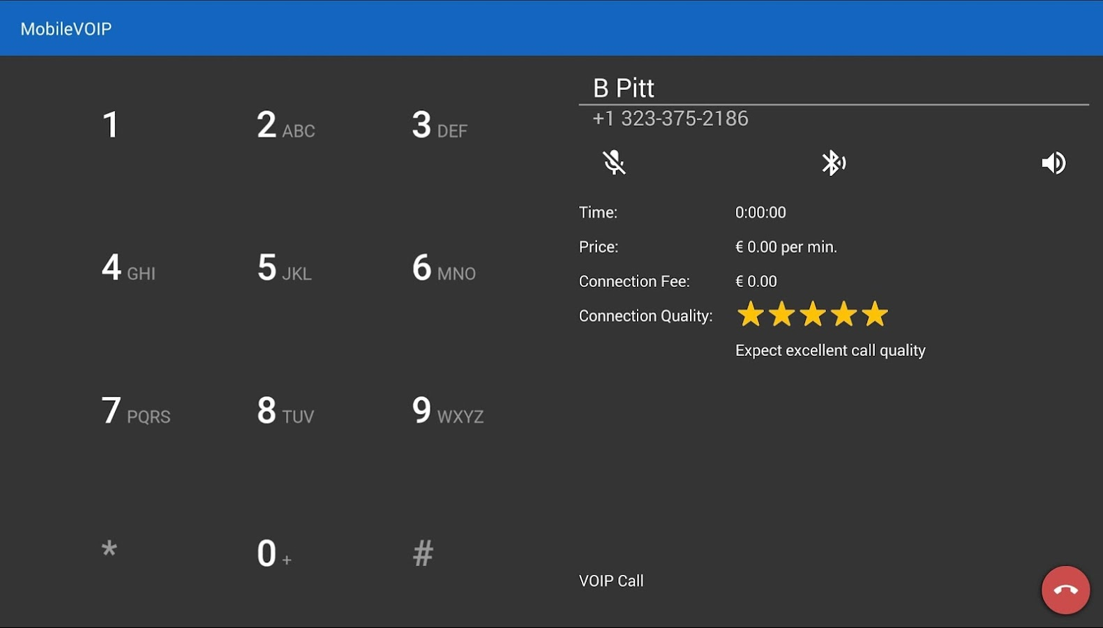 ActionVoip frugal living- screenshot
