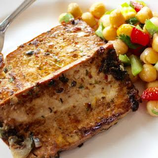 Cottage Cooking - Marinated Tofu Steaks.