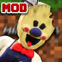 Mod & Skin Ice Scream Horror For Minecraft PE icon