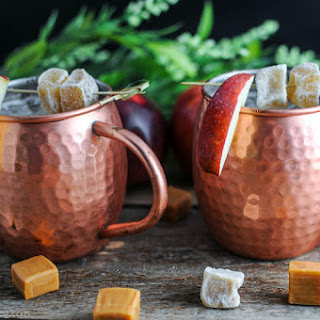 Caramel Apple Moscow Mule.