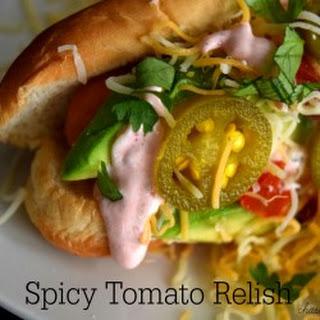 Hot Spicy Relish Recipes.