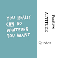 POSITIVE ATTITUDE IMAGE QUOTES icon