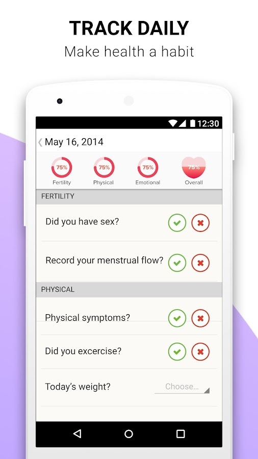 Glow ­Ovulation & Fertility- screenshot