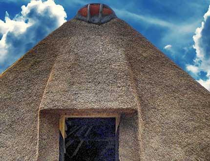 Nowy dach z trzciny