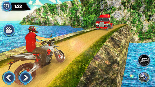 US Motorcycle Parking Off Road Driving Games filehippodl screenshot 3