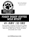Uncle Bear's Foggy Doggy Coffee Milk Stout