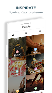 Fiestify | Tu red social de ocio Screenshot