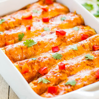 Sweet Potato, Corn, and Black Bean Enchiladas (Vegetarian) Recipe