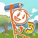 Draw a Stickman: EPIC 3 - アドベンチャーゲームアプリ
