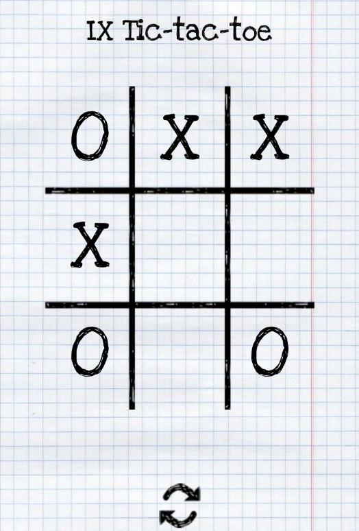 ix tic tac toe android apps on google play. Black Bedroom Furniture Sets. Home Design Ideas