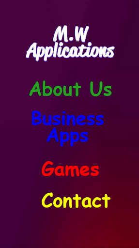 M.W Applications