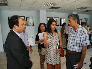 Photo: With Osman Baydemir, mayor of Diyarbakir, Nuran Yılmaz and Mehmed Eren from Kurdistan TV, during the Mezopotamya Foundation conference devoted to establishing the first Kurdish language university in North Kurdistan (Turkey), Diyarbakir