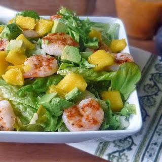Mango Avocado Shrimp Salad.