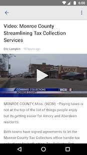 WCBI Mobile- screenshot thumbnail