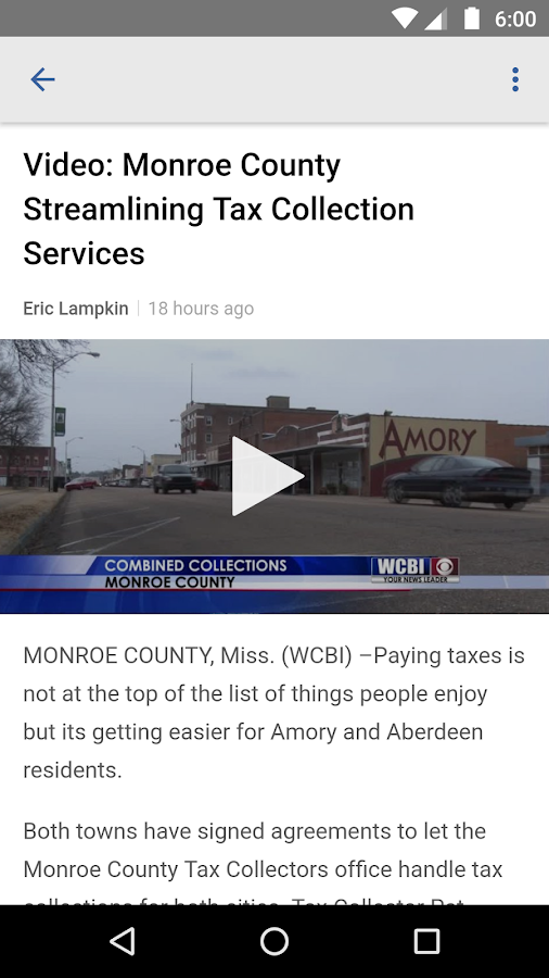 WCBI Mobile- screenshot