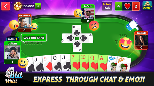 Bid Whist Free u2013 Classic Whist 2 Player Card Game 11.3 screenshots 10
