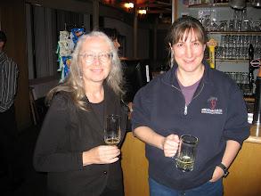Photo: Katherine Finter and Carolyn Macleod