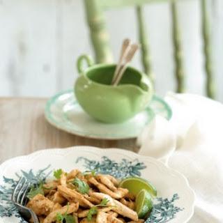 Wok-Fried Chicken and Lemongrass Recipe