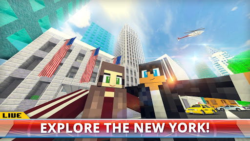 New York City Craft: Blocky NYC Building Game 3D download 1