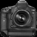 HD Camera with Manual Control icon