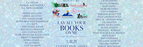 Lay All Your Books on Me Author Event